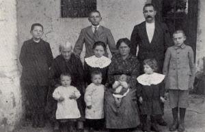Famiglia di Pino e Santa Mussio