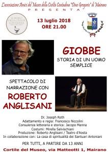 Roberto Anglisani - Giobbe - 2018 - Locandina